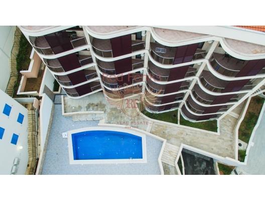 Beçiçi'de Apart Hotel içinde Satılık Daireler, Region Budva da ev fiyatları, Region Budva satılık ev fiyatları, Region Budva ev almak