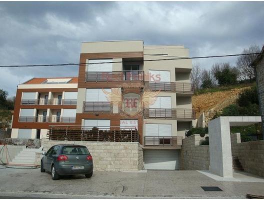 Tivat'ta Apartman Daireleri, Karadağ satılık evler, Karadağ da satılık daire, Karadağ da satılık daireler