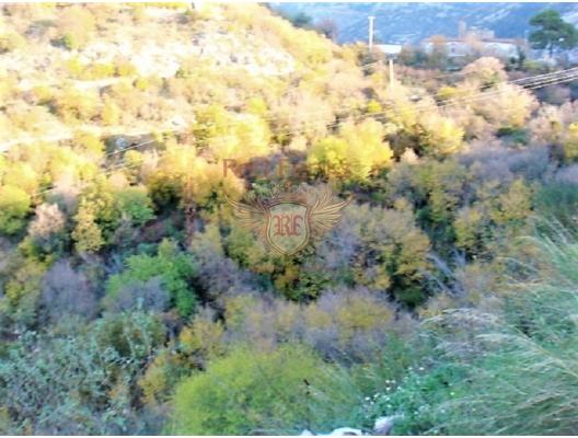 Boka Kotorska Körfezi'nde deniz manzaralı kentsel arsa, Karadağ Arsa Fiyatları, Budva da satılık arsa, Kotor da satılık arsa
