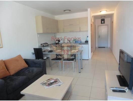 Becici'de iki odalı bir daire, Region Budva da satılık evler, Region Budva satılık daire, Region Budva satılık daireler