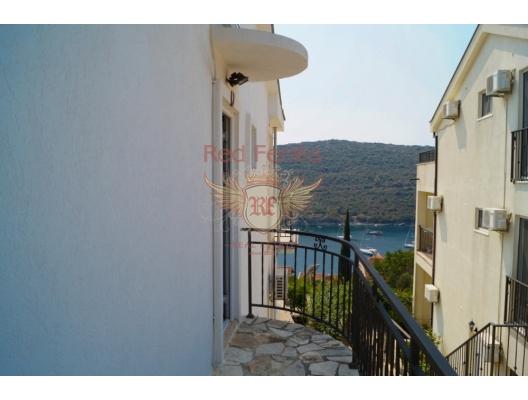 Bigova'da deniz manzaralı daire, Karadağ satılık evler, Karadağ da satılık daire, Karadağ da satılık daireler