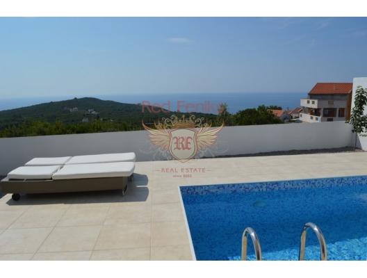 Krimovica'da Deniz Manzaralı Villa, Karadağ satılık ev, Karadağ satılık müstakil ev, Karadağ Ev Fiyatları