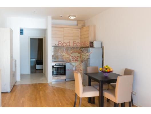 Becici sahilinde VIP 1 yatak odalı daireler, becici satılık daire, Karadağ da ev fiyatları, Karadağ da ev almak