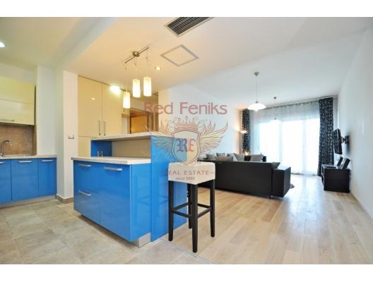 Kotor Körfezi'nin muhteşem manzarasına sahip şık 1 yatak odalı daire, Karadağ da satılık ev, Montenegro da satılık ev, Karadağ da satılık emlak