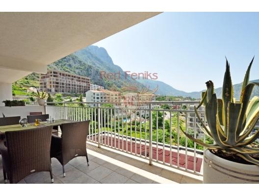 Kotor Körfezi'nin muhteşem manzarasına sahip şık 1 yatak odalı daire, Montenegro da satılık emlak, Dobrota da satılık ev, Dobrota da satılık emlak