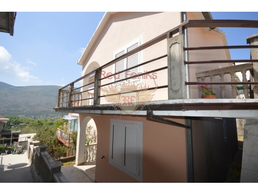 New house in a green neighborhood near the town of Herceg Novi, Montenegro real estate, property in Montenegro, Herceg Novi house sale
