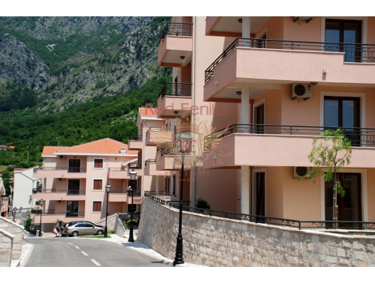 New Three Bedroom Apartment in Boka Bay, apartments in Montenegro, apartments with high rental potential in Montenegro buy, apartments in Montenegro buy