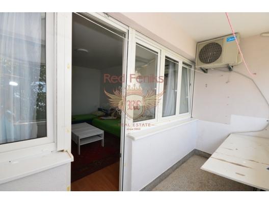 Herceg Novi'de deniz manzaralı tek yatak odalı daire., becici satılık daire, Karadağ da ev fiyatları, Karadağ da ev almak