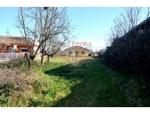 A plot with house near Podgorica, Montenegro real estate, property in Montenegro, Central region house sale