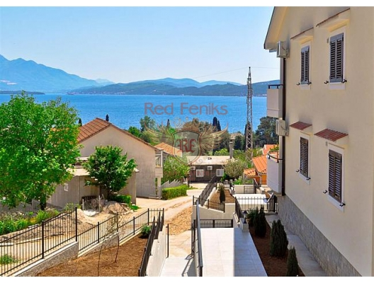 Apartments in new residential complex, Montenegro real estate, property in Montenegro, flats in Kotor-Bay, apartments in Kotor-Bay