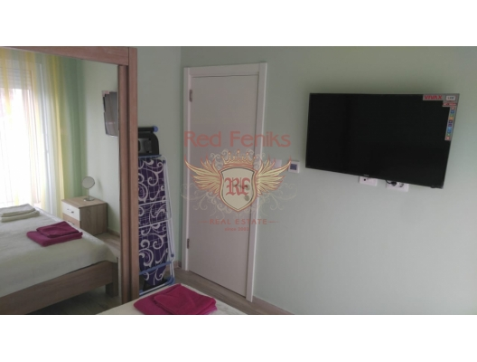 Apartment on the first line, with great rental potential, hotel residence for sale in Region Bar and Ulcinj, hotel room for sale in europe, hotel room in Europe