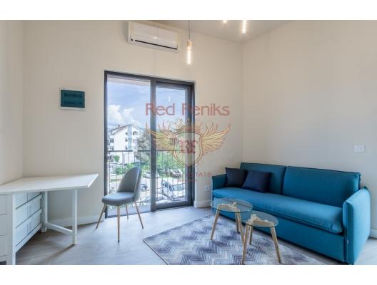 Karadağ Tivat'ta Yeni Binada Stüdyo Daire, Karadağ satılık evler, Karadağ da satılık daire, Karadağ da satılık daireler