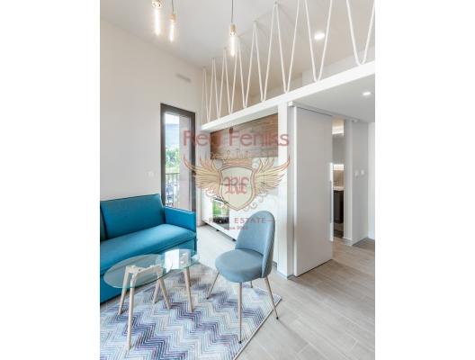 Karadağ Tivat'ta Yeni Binada Stüdyo Daire, becici satılık daire, Karadağ da ev fiyatları, Karadağ da ev almak