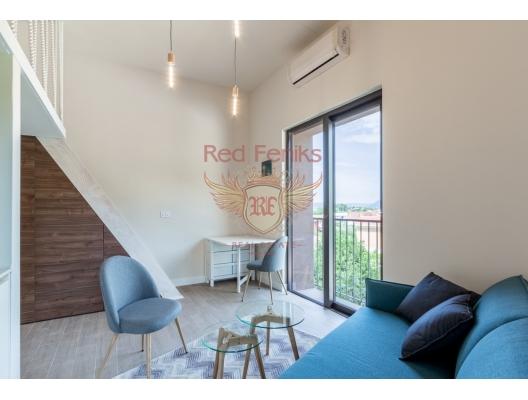 Karadağ Tivat'ta Yeni Binada Stüdyo Daire, Bigova da ev fiyatları, Bigova satılık ev fiyatları, Bigova da ev almak