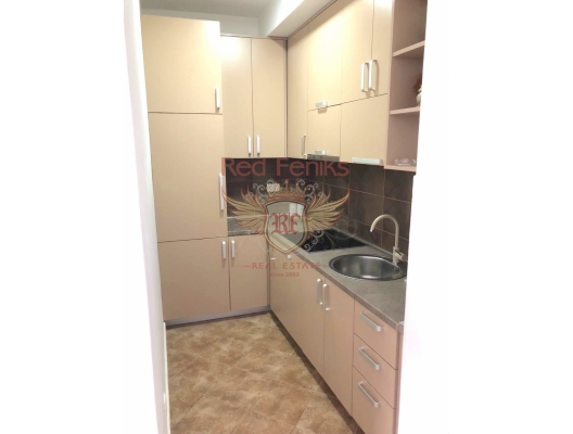 Two Bedroom Apartment with Beautiful Sea View in Rafailovici, apartments in Montenegro, apartments with high rental potential in Montenegro buy, apartments in Montenegro buy