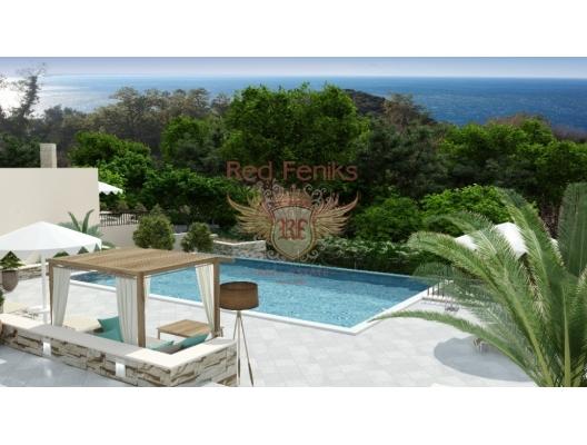 Rezevici'de lüks villa, Becici satılık müstakil ev, Becici satılık müstakil ev, Region Budva satılık villa