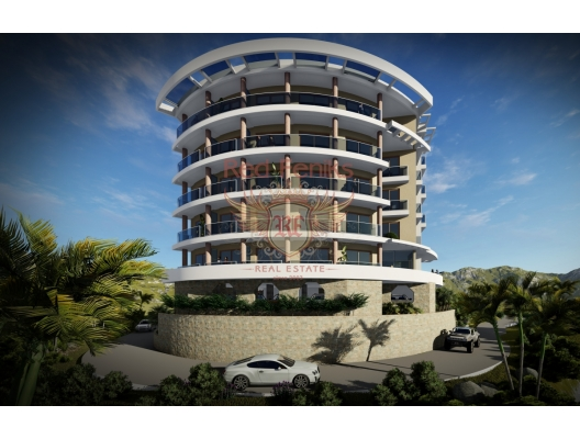 One bedroom apartments in a new panoramic complex in Becici, Montenegro real estate, property in Montenegro, flats in Region Budva, apartments in Region Budva