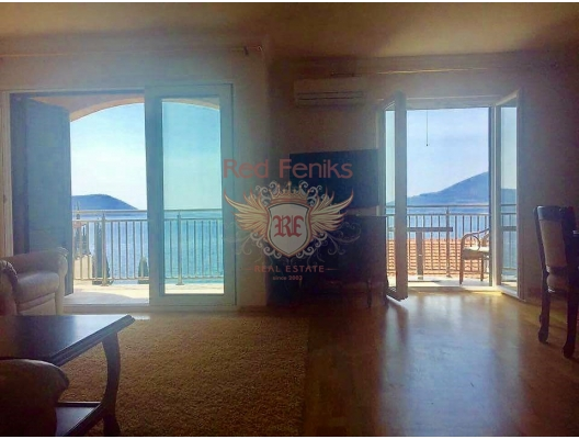 Urgent Sale of Apartments in Herceg Novi, sea view apartment for sale in Montenegro, buy apartment in Baosici, house in Herceg Novi buy