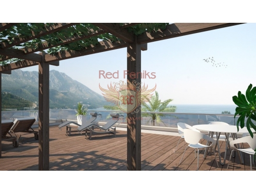 High Quality Apartments in Becici, sea view apartment for sale in Montenegro, buy apartment in Becici, house in Region Budva buy