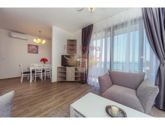 Sahil Şeridinde Lüks Daire, Karadağ da satılık ev, Montenegro da satılık ev, Karadağ da satılık emlak
