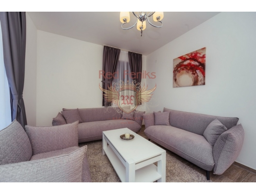 Sahil Şeridinde Lüks Daire, Karadağ satılık evler, Karadağ da satılık daire, Karadağ da satılık daireler