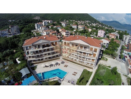 Baosici'de Apartman Dairesi, Karadağ'da garantili kira geliri olan yatırım, Baosici da Satılık Konut, Baosici da satılık yatırımlık ev