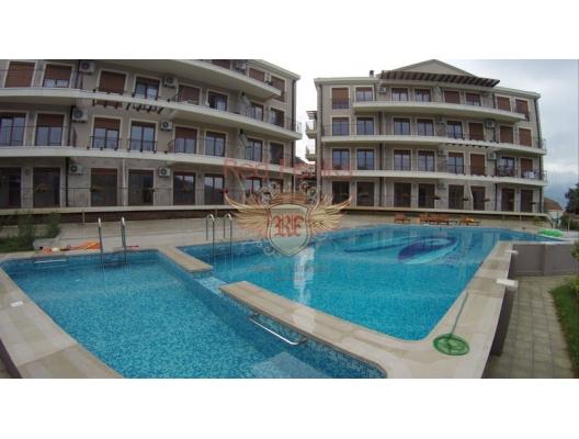 Yeni lüks komplekste daireler, plaja 50 metre!, Herceg Novi da satılık evler, Herceg Novi satılık daire, Herceg Novi satılık daireler