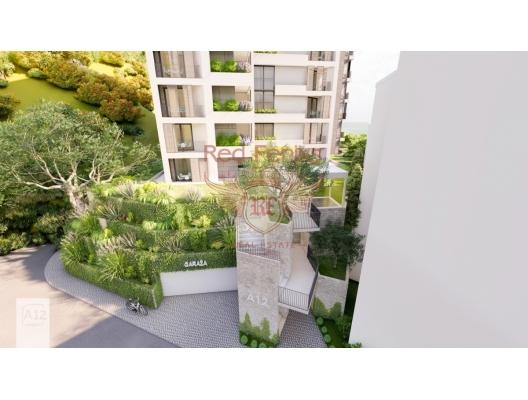 Rafailovici'de Yeni Konut Kompleksi 2+1, Karadağ'da satılık otel konsepti daire, Karadağ'da satılık otel konseptli apart daireler, karadağ yatırım fırsatları