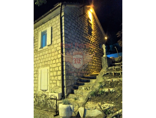Renovated Stone House in the Boka Bay, Dobrota house buy, buy house in Montenegro, sea view house for sale in Montenegro