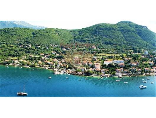 Panoramik deniz manzaralı ön cephe villa, Karadağ Villa Fiyatları Karadağ da satılık ev, Montenegro da satılık ev, Karadağ satılık villa