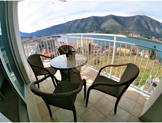 Sea View Two bedroom apartment in Dobrota, hotel residences for sale in Montenegro, hotel apartment for sale in Kotor-Bay