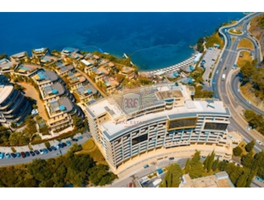 The three bedroom apartment in condo Montenegro, Becici/Budva, hotel residences for sale in Montenegro, hotel apartment for sale in Region Budva