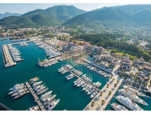 Tivat da Luks Daire, Karadağ'da satılık otel konsepti daire, Karadağ'da satılık otel konseptli apart daireler, karadağ yatırım fırsatları