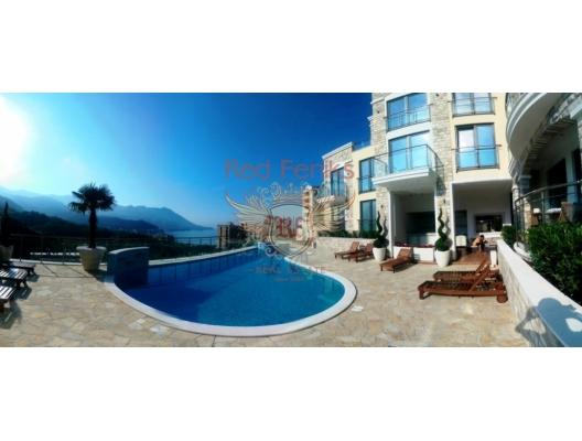 Becici'de yeni konut kompleksi, Becici da satılık evler, Becici satılık daire, Becici satılık daireler