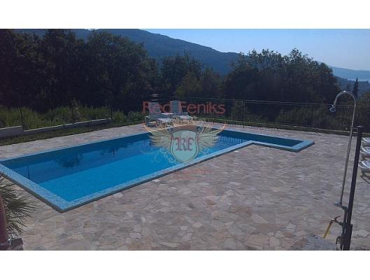 Herceg Novi'nin eski şehrinin sakin ve yeşil bir yerinde güzel bir ev, Karadağ Villa Fiyatları Karadağ da satılık ev, Montenegro da satılık ev, Karadağ satılık villa