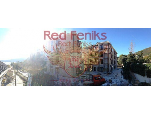 Flats in the new luxury complex, 50 meters from the beach!, Montenegro real estate, property in Montenegro, flats in Herceg Novi, apartments in Herceg Novi