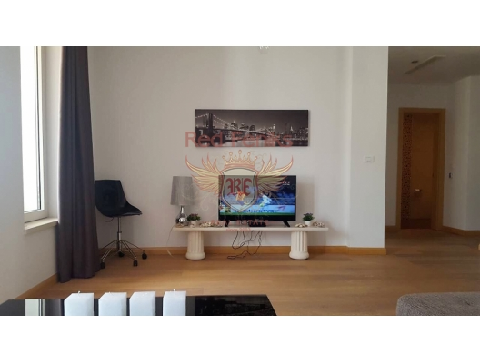Spacious apartment for sale in Budva, Montenegro, with an area of 61m2 is located on the third floor.