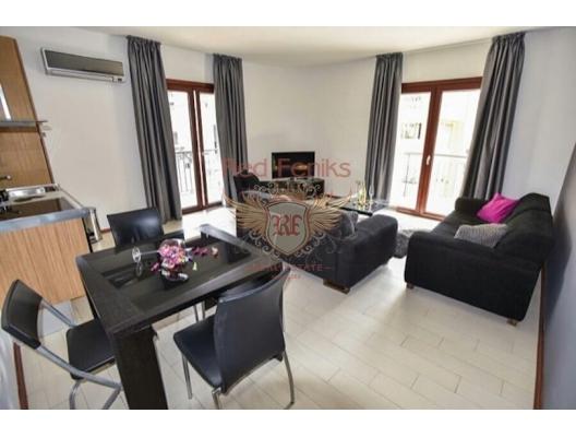 Two bedroom lux apartment in Budva, Karadağ da satılık ev, Montenegro da satılık ev, Karadağ da satılık emlak