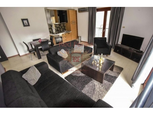 Two-bedroom apartment for sale in Budva, Montenegro with an area of 80m2.