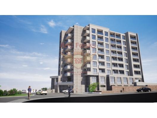 Becici'de Yeni Sitede Daireler, becici satılık daire, Karadağ da ev fiyatları, Karadağ da ev almak