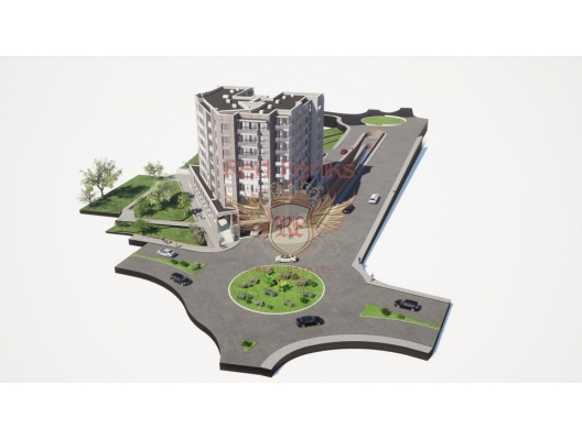 Becici'de Yeni Sitede Daireler, Becici da satılık evler, Becici satılık daire, Becici satılık daireler