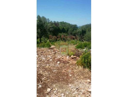 Good plot in Krimovica, plot in Montenegro for sale, buy plot in Lustica Peninsula, building plot in Montenegro