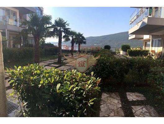 Djenovici'de bahçe ile daire, Dobrota da satılık evler, Dobrota satılık daire, Dobrota satılık daireler