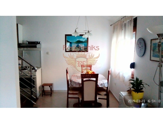 Dobrata'da Dubleks Daire, Montenegro da satılık emlak, Dobrota da satılık ev, Dobrota da satılık emlak