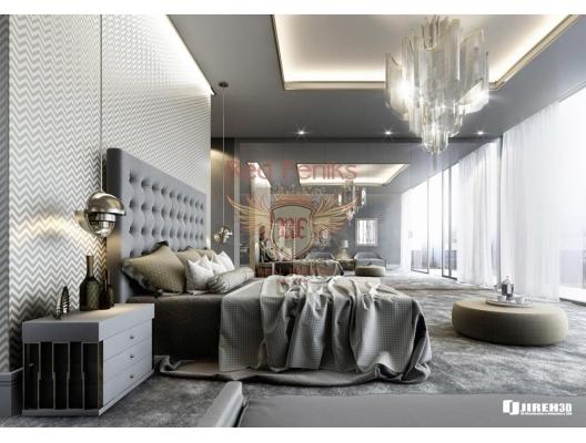 Budva ön hat panoramik deniz manzaralı daire, Karadağ'da garantili kira geliri olan yatırım, Becici da Satılık Konut, Becici da satılık yatırımlık ev