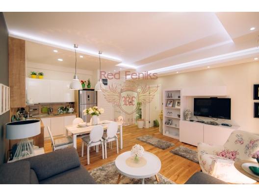 Apartment mit zwei Schlafzimmern in Budva, 100 m vom Meer entfernt, Wohnungen in Montenegro, Wohnungen mit hohem Mietpotential in Montenegro kaufen