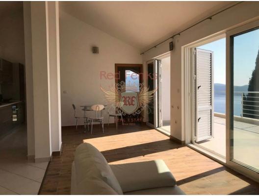 New Panoramic Apartment in Herceg Novi, becici satılık daire, Karadağ da ev fiyatları, Karadağ da ev almak