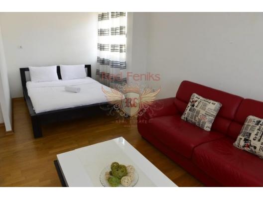 Tivat'ta deniz manzaralı tek yatak odalı daire, Montenegro da satılık emlak, Bigova da satılık ev, Bigova da satılık emlak