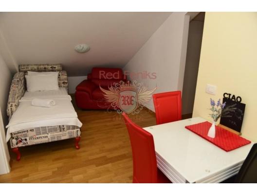 Tivat'ta deniz manzaralı tek yatak odalı daire, Karadağ satılık evler, Karadağ da satılık daire, Karadağ da satılık daireler
