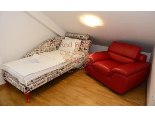 Tivat'ta deniz manzaralı tek yatak odalı daire, Region Tivat da satılık evler, Region Tivat satılık daire, Region Tivat satılık daireler
